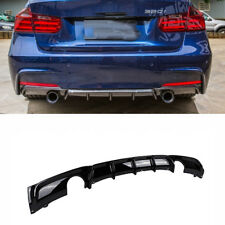 FRP Rear Bumper Diffuser Lip For BMW F30 320i 325i 328i 335i M Sport