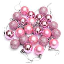 24PCS Plastic Christmas Tree Ornaments Ball For Xmas Festival Supply Decoration