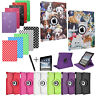 For APPLE iPAD AIR - Smart Stand Leather Magnetic 360 Case Cover
