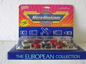 New Micro Machines European Collection Lamborghini Porsche Rolls Jag Mecedes SL