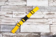Brustgurt für Schulranzen, 25 mm Rucksack, neu. gelb
