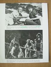 1980 FILM STILL PRESS PHOTO - WHEN TIME RAN OUT - PAUL NEWMAN JACQUELINE BISSET