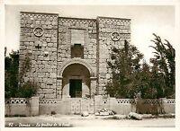 Damascus St. Paul's Window Syria RPPC Postcard