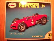 Revival ~ 1961 Ferrari 156 Formula 1 Model Kit Phil Hill Signed Limited Edition