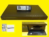 Lettore DVD / con Schede / SD/Mmc + USB / 5.1-Ausgang / Nero
