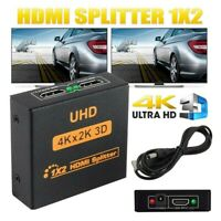 HD 1080P 3D 1 IN 2 4K HDCP Stripper 1 × 2 HDMI Splitter Switcher Für HDTV