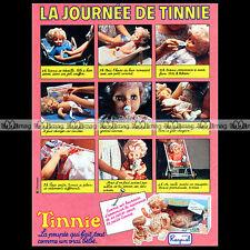 TINNIE Raynal Poupée Baby Doll Bambola 1979 : Pub Publicité Advert Ad #A1388