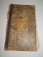 Antique 1870s Ledger Scrapbook Newspaper Articles Handwritten