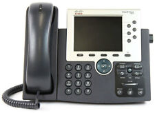 Cisco 7965 Series CP-7965G VoIP PoE Business Phone w/ Handset