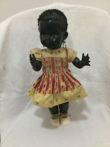 Black Pedigree 40cm Walking Doll Original Outfit