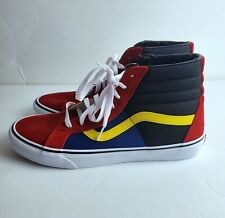 Men's Van's SK8 HI OTW Rally Skate Shors Sneakers Size 12 721454 Multi-color