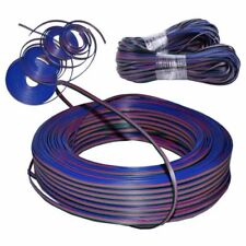 656FT 22AWG RGB 3528 5050 RGB LED Strip 4 Pin Extension Cable Wire Connector