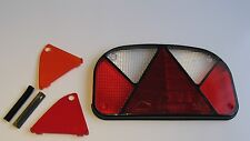 TRAILER REAR LIGHT LENS ASPOCK MULTIPOINT 2 COMBINATION TO FIT IFOR WILLIAMS