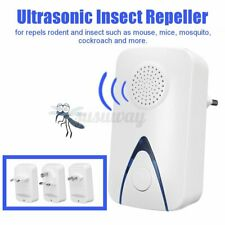 Electric Ultrasonic Insect Repeller Plug Pest Mosquito Mouse Killer Night   U1