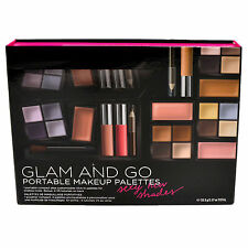 Victoria's Secret Makeup Kit Glam And Go Portable Cosmetic Palettes Set Vs New