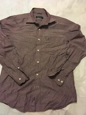Nautica Men's Button Down Shirt Striped Long Sleeve Sz S Wrinkle Resistant (3)
