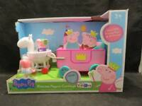 Peppa Pig Princess Peppa's Carriage New in Box