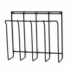 Spectrum 37710 Wall-Mount Magazine Rack, Black , New, Free Shipping