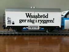 Marklin HO #4566 white colored Box-Car Wasabrod in Original Box West Germany