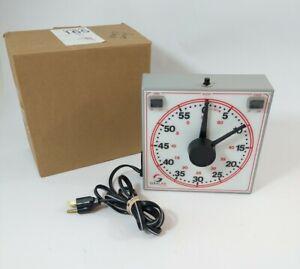 GraLab 165 120V 60-Minute Sports Timer Clock General Purpose - Universal Analog