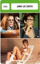 FICHE CINEMA :  JAMIE LEE CURTIS -  USA (Biographie/Filmographie)