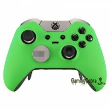 Upper Cover Front Shell Faceplate for Xbox One Elite Controller Soft Touch Green