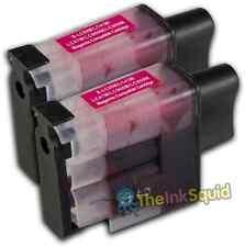 2 Cartucho de tinta Magenta LC900 Set para Brother Impresora MFC5840 MFC5840CN