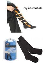 2 X Pairs Mens Womens Flight Travel Socks Unisex Compression Anti Swelling DVT