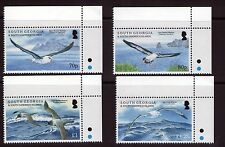 South Georgia QEII Albatrosses set  marginal set MNH