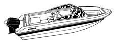 Trophy 1802 DC Fishing Trailerable boat Cover