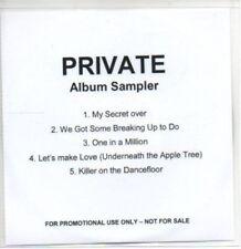 (AI79) Private, Album sampler - DJ CD