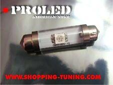 PROMO 5 AMPOULE NAVETTE LED C5W 42MM ROUGE PLAFONNIER