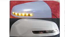 Holden Commodore VE Omega ready to paint LED mirror covers with amber blinkers