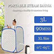Portable Steam Sauna Spa 3L Personal Therapeutic Sauna Weight Loss Detox Relaxat