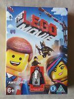 NEW & SEALED DVD - The LEGO Movie (2014) with Vitruvius Minifigure