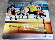 Beachbody: Insanity Live! Round 22 (DVD, 2015) Factory Sealed