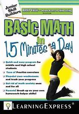 Basic Math in 15 Minutes a Day [With Free Online Practice Exercises Access Code]