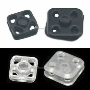 7 10mm Plastic Poppers Press Studs Sew On Fastener Button Snaps Sewing Fitting T