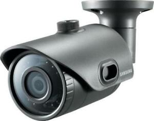 Samsung SNO-L6013R 2MP Full HD WiseNet Weatherproof IR LED Bullet CCTV Camera