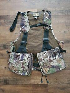 Ol' Tom Drake waterfowl Turkey Vest Realtree Camo Hunting call decoy hunting