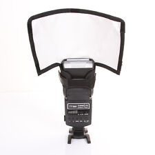 Universa Foldable Flash Snoot Diffuser Photo Reflector Softbox For Canon Yongnuo