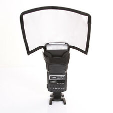 Foldable Flash Snoot Speedlite Softbox Diffuser Speedlight Reflector Bender Smal