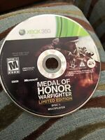 Medal of Honor: Warfighter -- Limited Edition (Microsoft Xbox 360, 2012) Disc 1