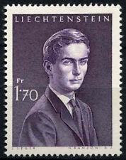 Liechtenstein 1960-1964 SG#404a 1f70 IL PRINCIPE EREDITARIO Hans Adam Gomma integra, non linguellato #D38898