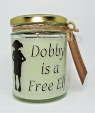 Dobby's Quote Scented Jar Candle, Magical, Gift, Holidays, soy wax,