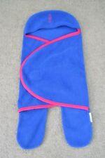 Hey Baby Wrap Rugamuffin Medium Stroller Blanket Bunting Blue Fleece New Zealand