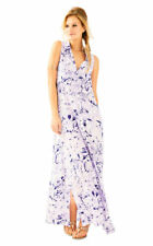 Lilly Pulitzer Ezra Maxi Beach Dress, Rock The Dock, SMALL, NWT