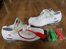 Nike Vapormax The 10: FX Air-UK7.5 - US8.5 - EU 42-Off White-Ice White