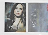 Ghost Whisperer: Seasons 3 & 4 Promo Card by BREYGENT UN-NUMBERED FOIL VERSION