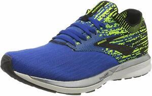 Brooks Mens Ricochet Running Shoes, Blue/Nightlife/Black